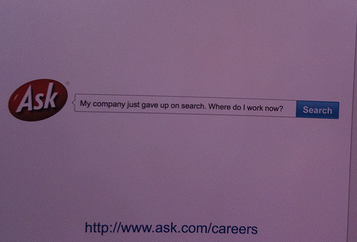 Ask.com Sign