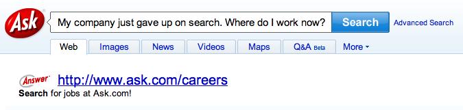 Ask.com Results