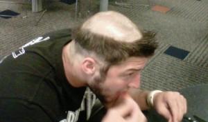 Picture of Tim Tebow Haircut