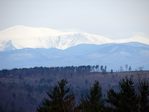 Mount Washington in New Hampshire