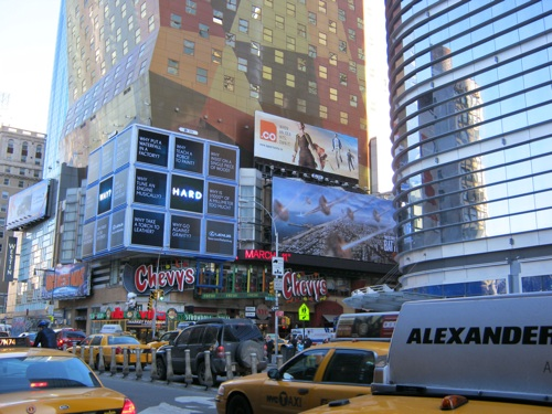 CO Billboard in Times Square NYC