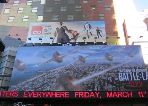 .CO Billboard in Times Square
