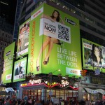 Go Daddy in Times Square