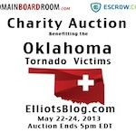 Domain Boardroom and Escrow.com Sponsoring Auction to Help Oklahoma Tornado Victims