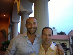 Andrew Rosener and Elliot Silver in Casco Viejo, Panama