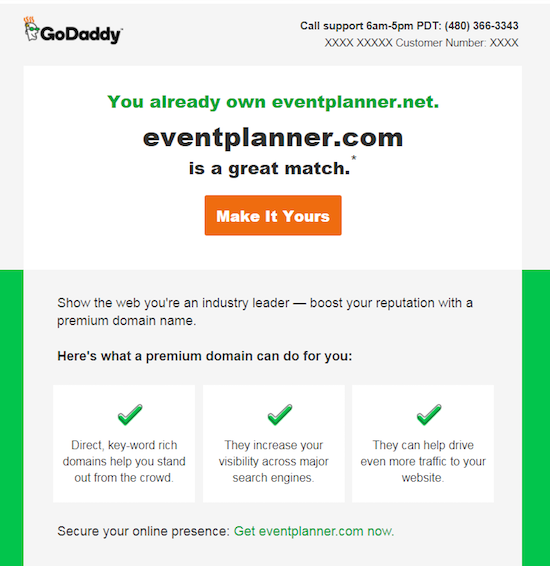 Afternic Outbound Email Sales Tactic   DomainInvesting com