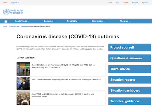 Coronavirus.com is Owned by GoDaddy